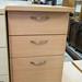 Beech desk high ped E70