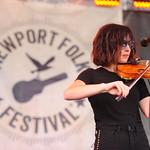 Fri, 27/07/2018 - 11:17am - Amanda Shires and her band, Newport Folk Festival 2018. Photo by Neil Swanson/WFUV
