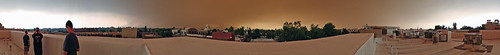 carr fire panorama downtown redding smoke plume plumes california sky city 360 degrees