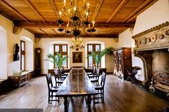 Vianden - Castle - Dining room