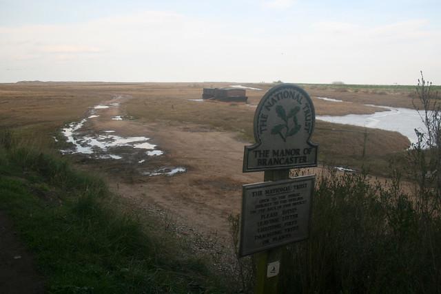 Brancaster marshes