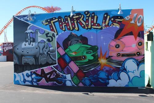 Coney Island - Coney Art Walls: Collide-A-Scope by Daze