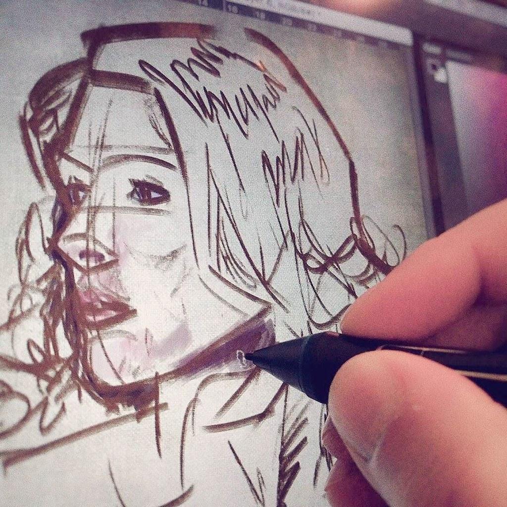Wip Colorstudy Portrait Painting Drawing Digitalpain