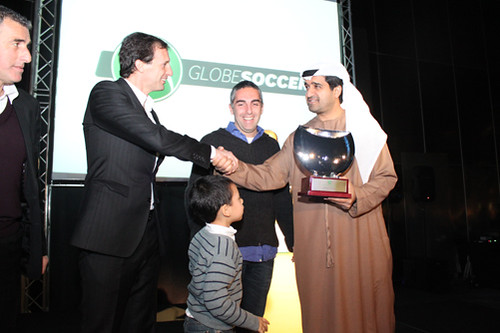 Massimiliano Allegri and Ahmed Al Sharif