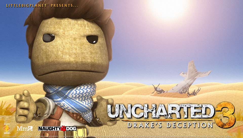 Uncharted 3 Wallpaper 960x544 Nathan Drake In Lbp