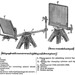 Diagram of US Army Signal Service  Heliograph, Model of 1888