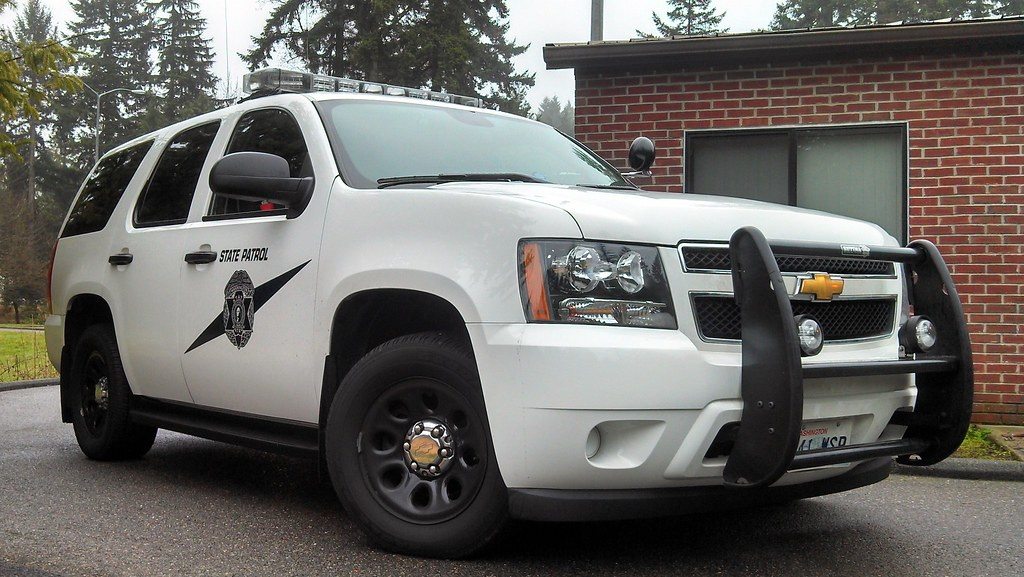 Washington State Patrol Chevrolet Tahoe PPV in South Evere