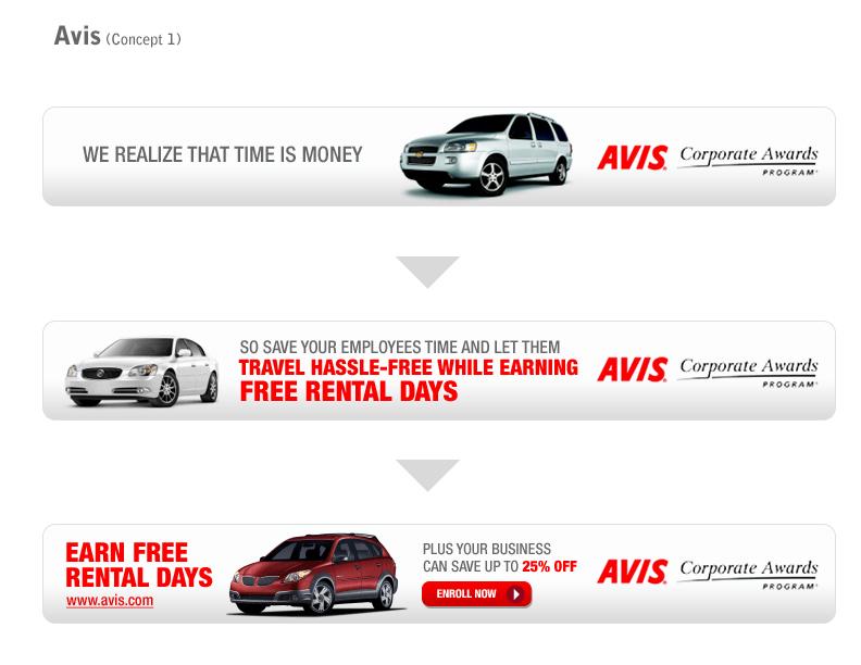 Avis Car Rental Banner Ad 2 A Photo On Flickriver