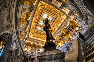 Library of Congress - 3 ex. HDR (handheld) | by m01229