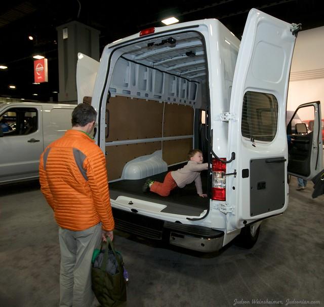 2013 Washington Auto Show - Lower Concourse - Nissan 3