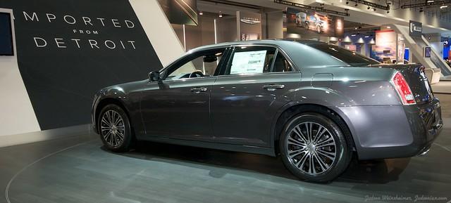 2013 Washington Auto Show - Upper Concourse - Chrysler 2