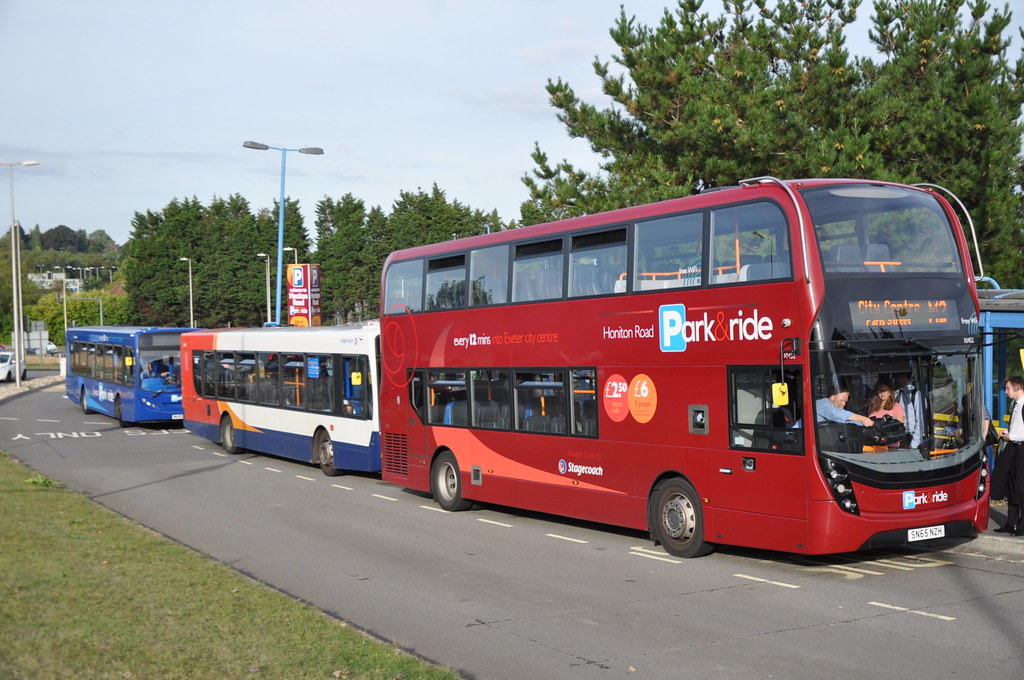 Honiton Road Park And Ride >> Honiton Road Trio | A Stagecoach Devon Red Park & Ride liver… | Flickr