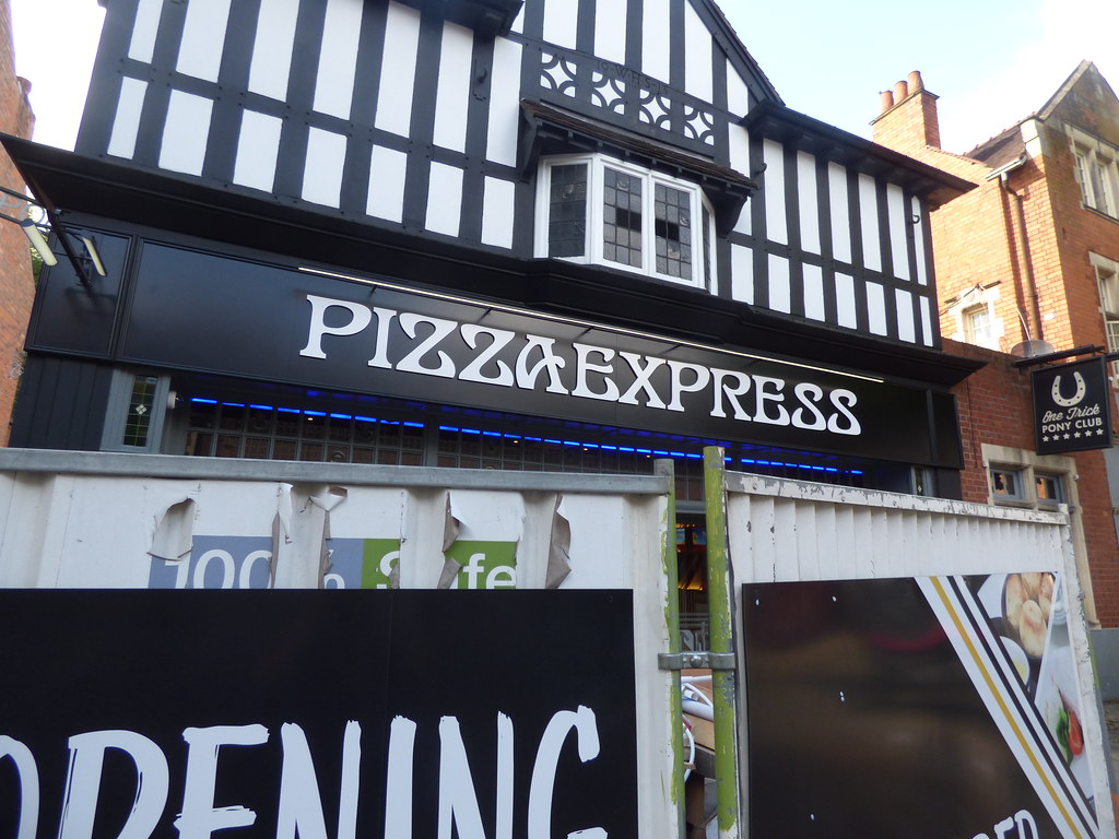 Pizza Express Alcester Road Moseley Village In Moseley