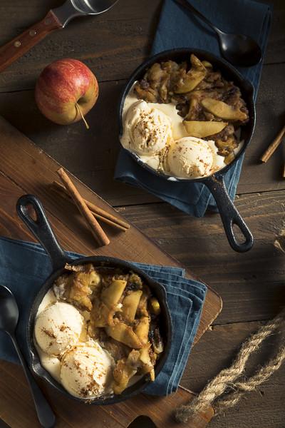 Homemade Sauteed Cinnamon Sugar Apples