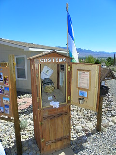 Molossia Customs Booth   by J. Stephen Conn