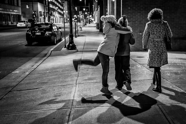 Downtown Stroll on X-Mas Eve