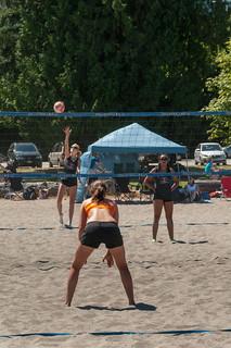 Beach Volley at Locarno Beach | by MadGrin
