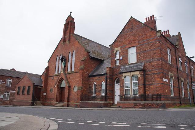 West elevation- St. Patricks R.C. Church, Thornaby