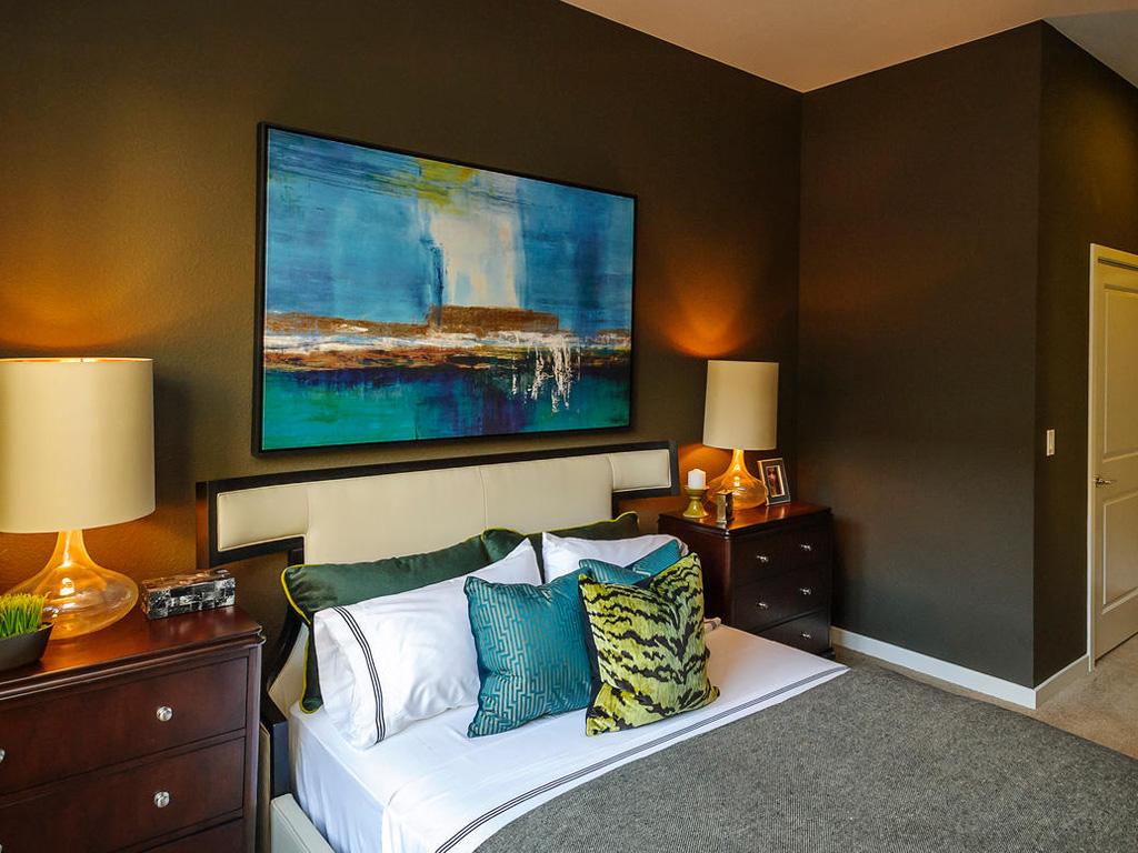 Farallon • Plan F: Master Bedroom