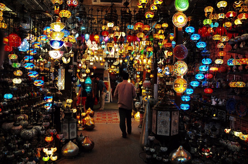 colours and light   Lamp shop in Arab street in Singapore - …   Flickr