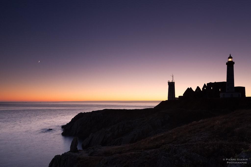 Saint Mathieu Sunset - Brittany