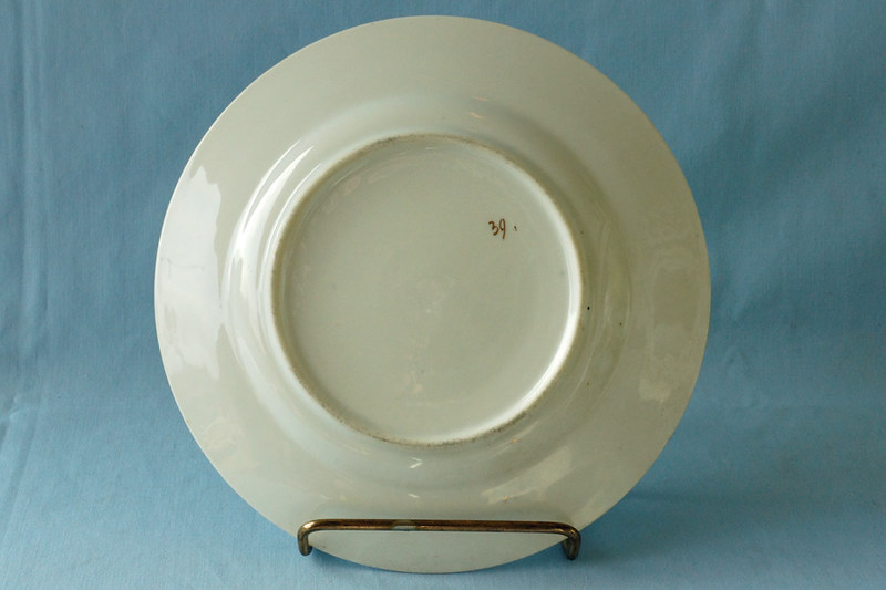 DSC01307 Vintage Plate with Cupids