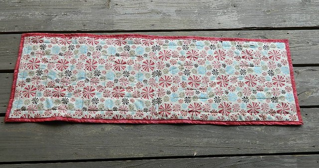 Mom's table runner back