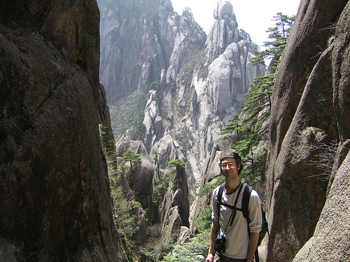 Francois in the Yellow Mountains
