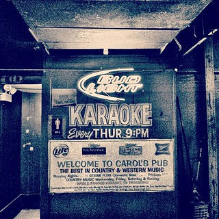 Karaoke Night #pub #karaoke #chicago #neon... | by spirobolos