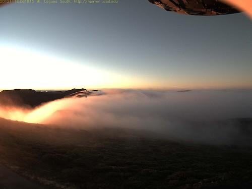 mist sunrise mountlaguna anzaborregodesert hpwren