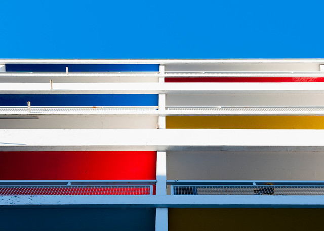 Le Corbusier balconies