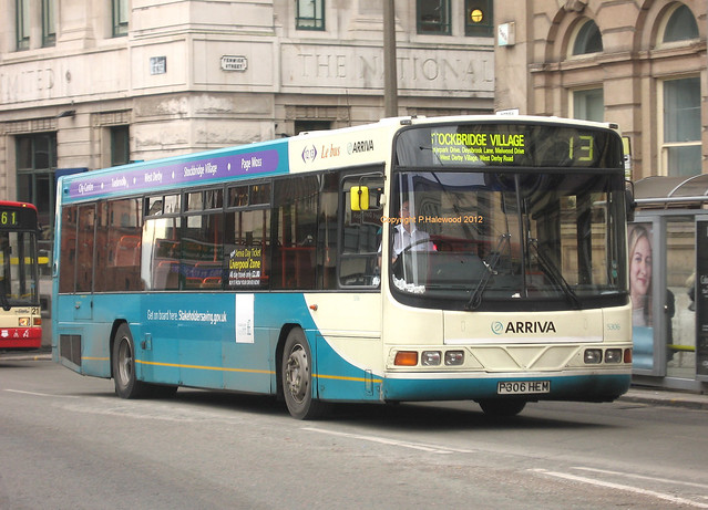 Arriva Merseyside 5306 (P306HEM)