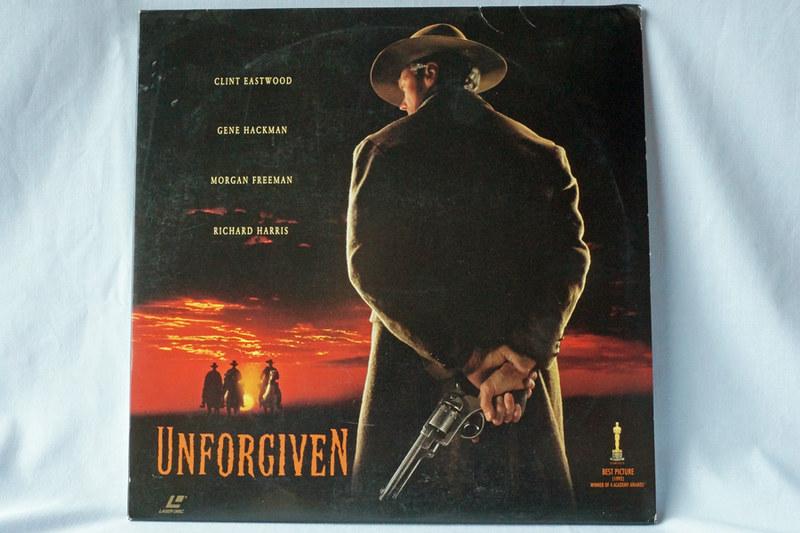 DSC02043 Unforgiven Starring Clint Eastwood Laser Disc