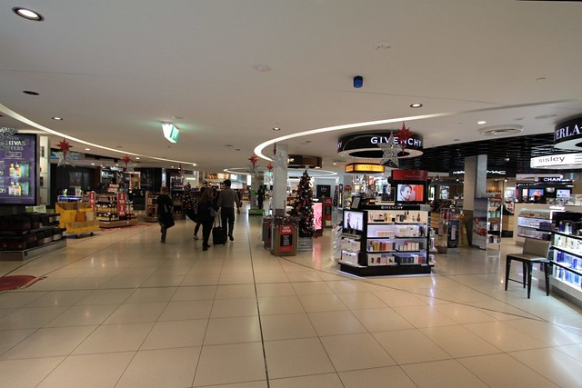 Perfume: the first part of the duty free store every departing passenger needs to walk through