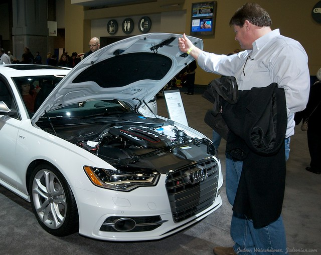 2013 Washington Auto Show - Lower Concourse - Audi 14