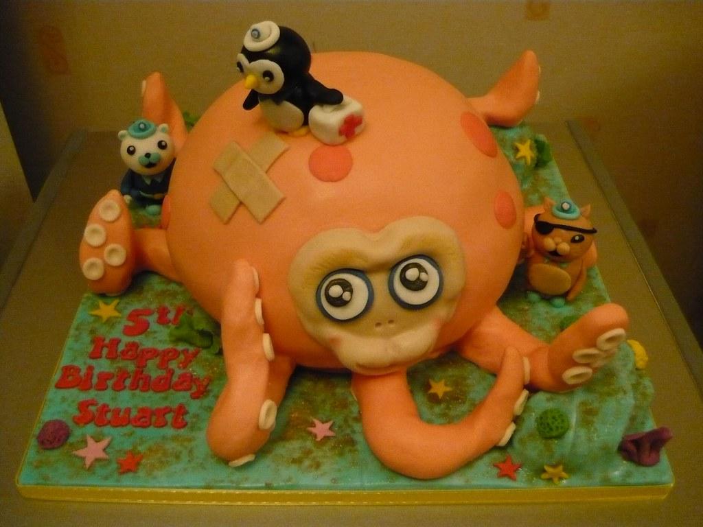 Enjoyable 88 Octonauts Help Octopus Birthday Cake 08 December 2012 Flickr Funny Birthday Cards Online Inifodamsfinfo