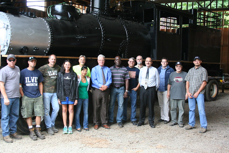 2012 Shay Locomotive Restoration Project