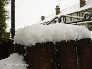 Bricks with Snow | by simonevanbergen