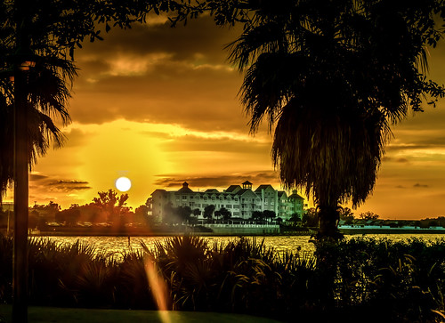 lake clouds wow palmtrees sunrays lakesumter waterfrontinn thevillagesfl d8e052111