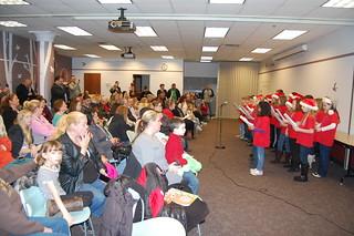 Santa and the Highland Singing Eagles