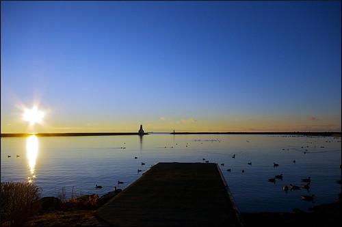 marina sunrise harbour lakeontario cobourg