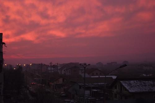 city houses winter sunset sky december mygearandme photographyforrecreation