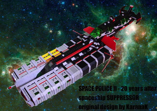 Neo Space Police II spaceship: SUPPRESSOR