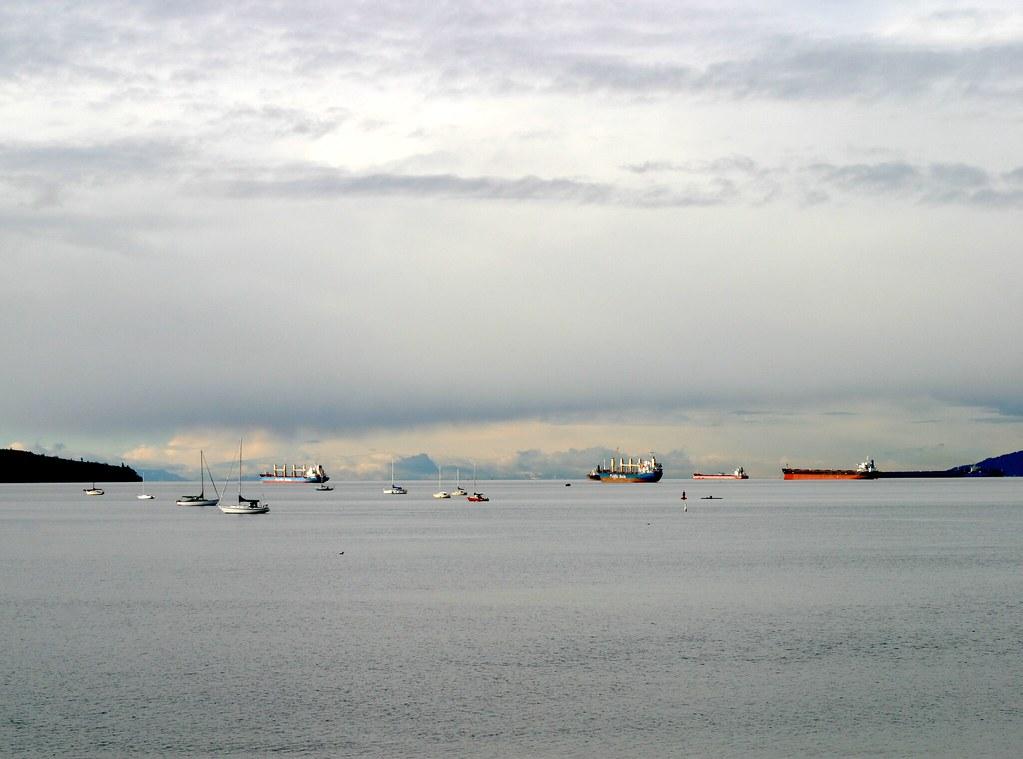 Toy Boats at English Bay II