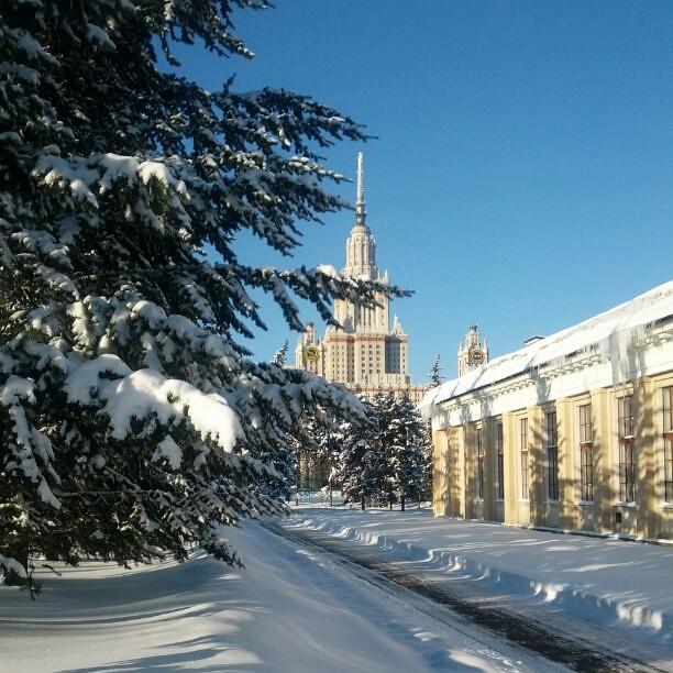 В Москве солнечно!
