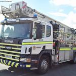 Scottish Fire & Rescue Service- Scania 94D 260- Aerial Ladder Platform- SV51 EVY
