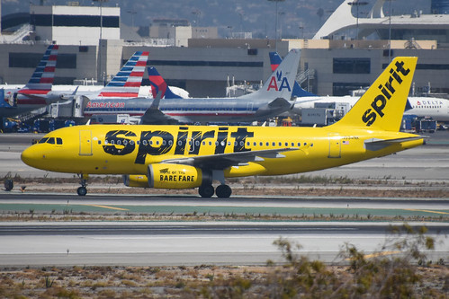 N534NK Airbus A-319 Spirit Airlines | by Colin N Wells