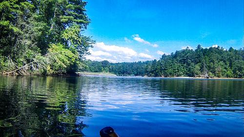 estatoecreek kayaking lakekeowee paddling southcarolina sunset unitedstates us