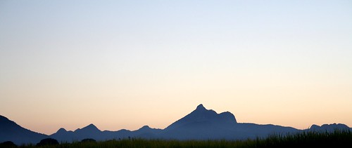 sunset mountains nature beauty silhouette canon landscape photography australia nsw serene mountwarning murwillumbah uploaded:by=flickrmobile flickriosapp:filter=nofilter