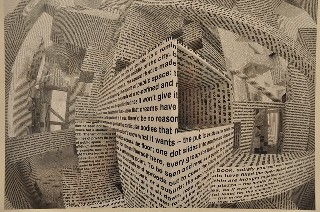 City of words, (made by Vito Acconci)